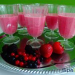 Detox Smoothie: The russian Pink-Dream with chia seeds
