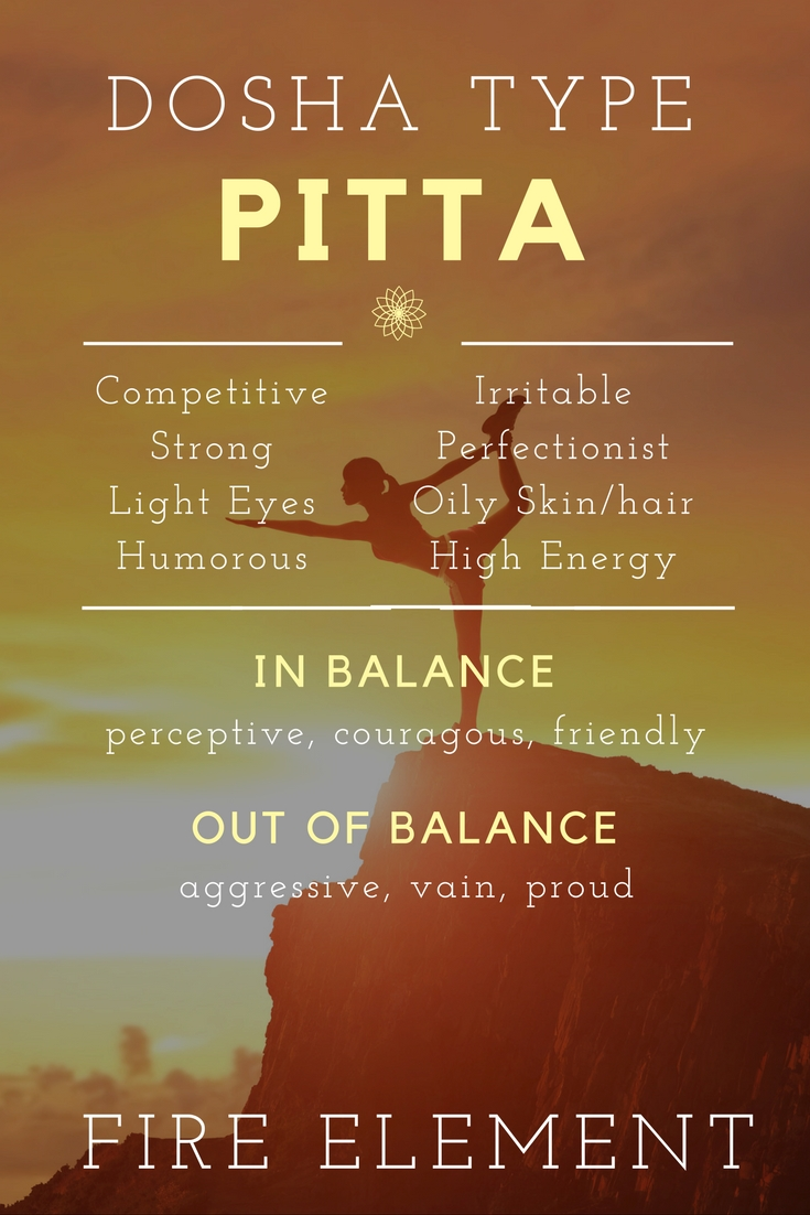 Ayurveda Types The Fiery Pitta Dosha Spadreams Blog