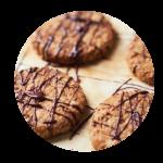 Oat & Walnut Christmas Cookies