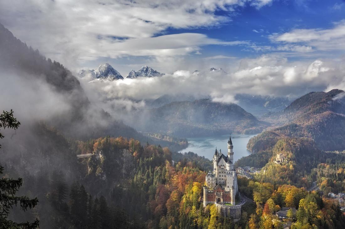 Neuschwanstein Panoramic