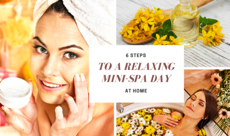6 Steps to a Relaxing Mini-Spa Day Blog Cover