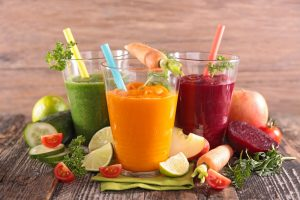 Health vegetable juices