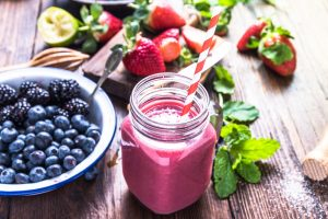 Health Blueberry Smoothie