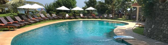 Swimming pool Somatheeram Ayurveda resort kerala