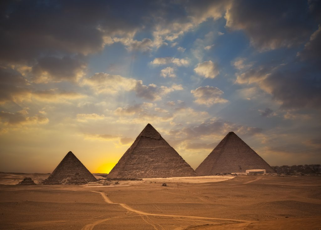 The pyramids of egypt, one of the best spring break destinations