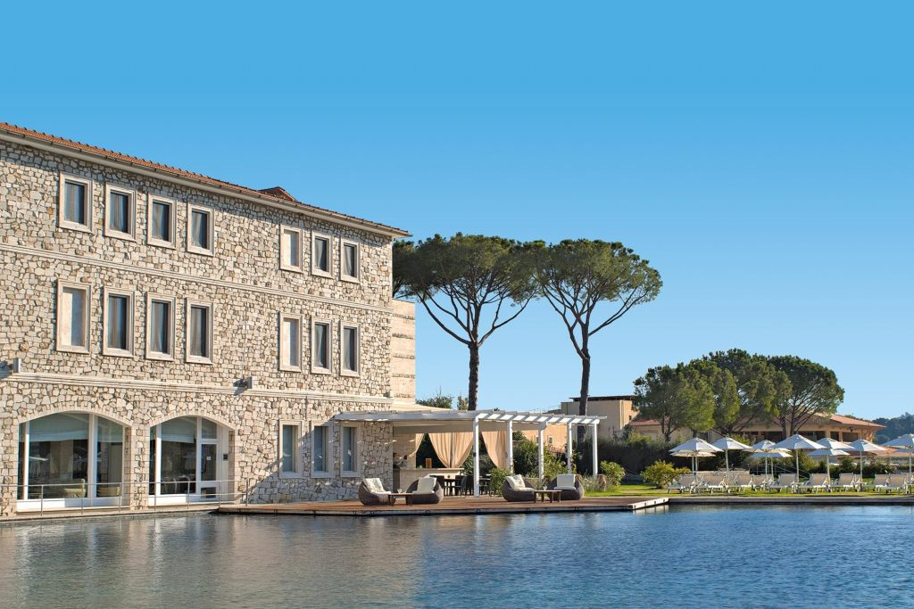 Terme di Saturnia one of the best spa hotels in Italy