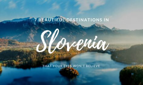 Beautiful destinations in Slovenia
