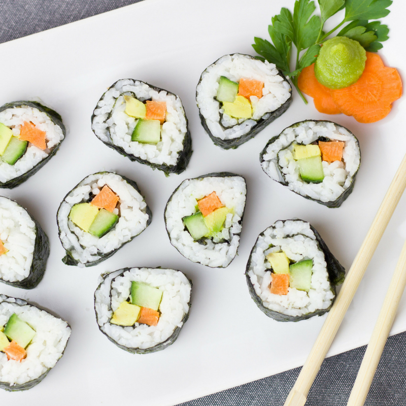 sushi-  a natural source of iodine