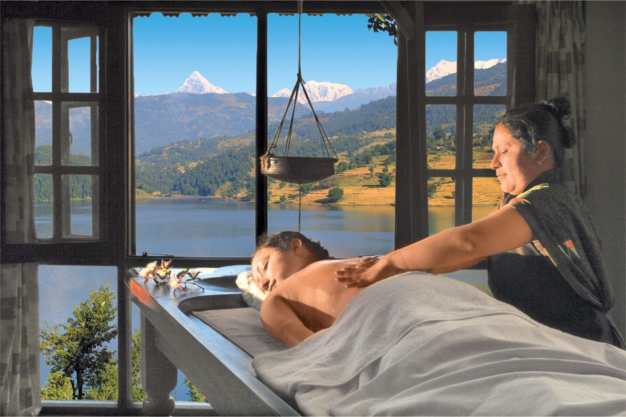 ayurveda and yoga retreat nepal spadreams