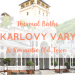 Karlovy Vary Thermal Baths and Romantic Old Town
