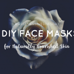 4 DIY Facemasks for Naturally Nourished Skin – Wellness Wednesday