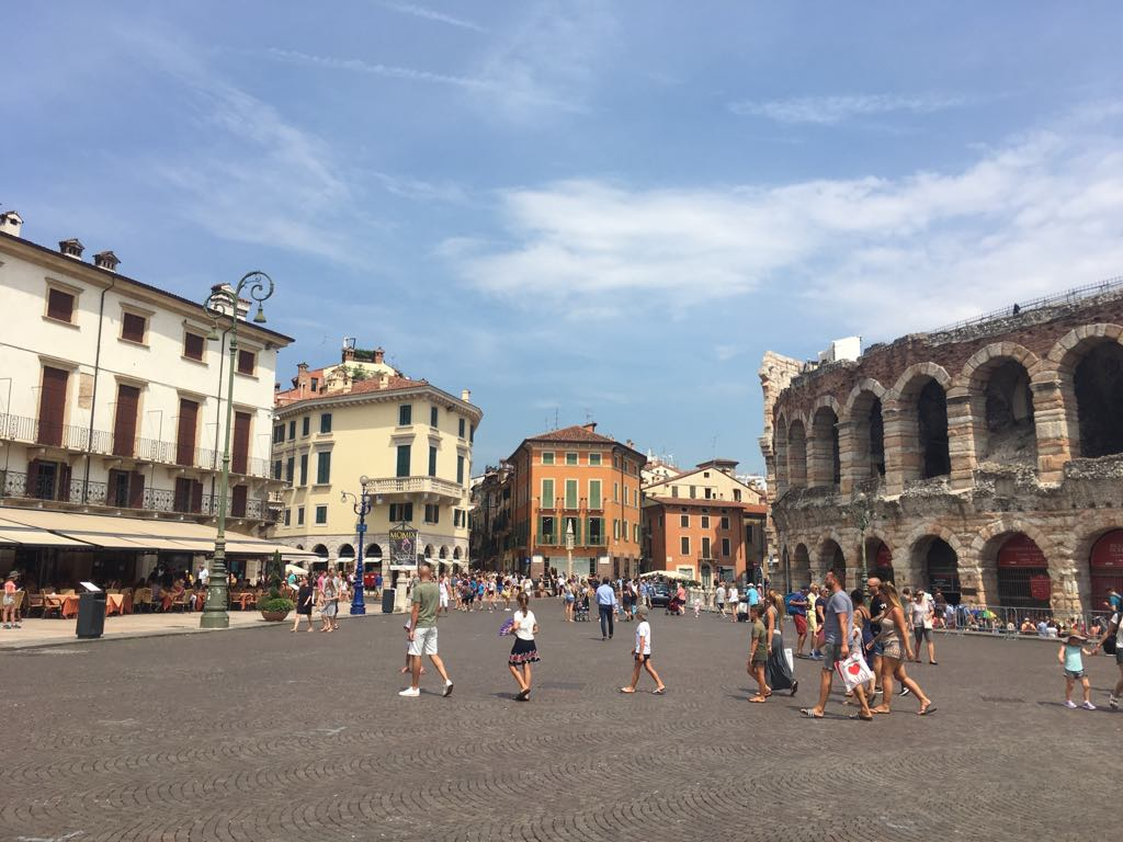 Verona Arena. One of the best places to visit in Lake Garda. With SpaDreams