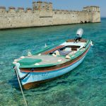 Boat in Sirmione. One of the best places to visit in Lake Garda. With SpaDreams