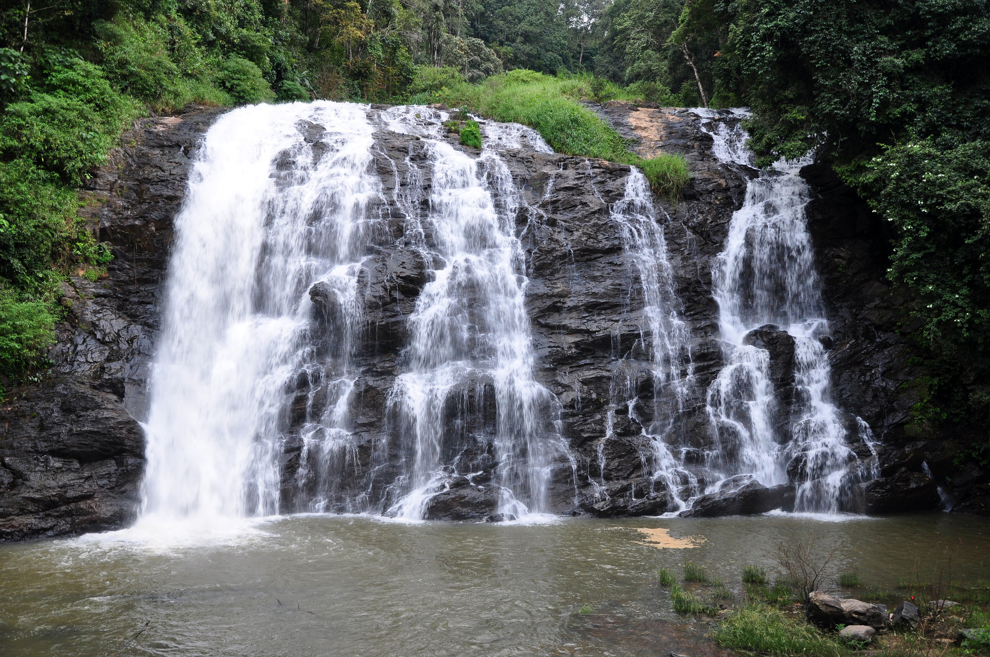 Abbey Falls in Kodagu, Karnataka, India.