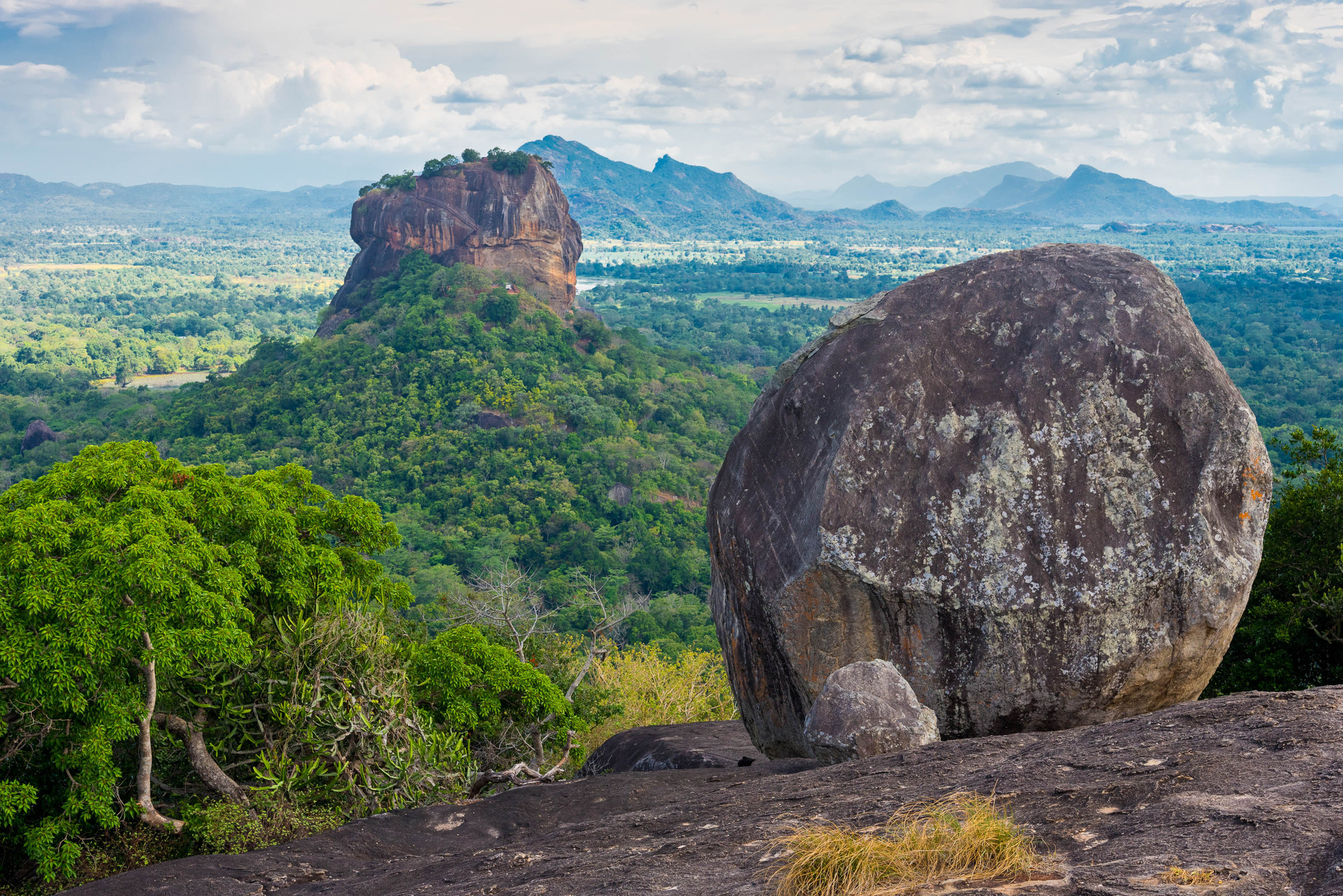 7 Reasons Why Holidaying in Sri Lanka Saves You Money - SpaDreams. Sigiriya Lion Rock fortress and landscape in Sri Lanka. 7 Reasons Why Holidaying in Sri Lanka Saves You Money - SpaDreams