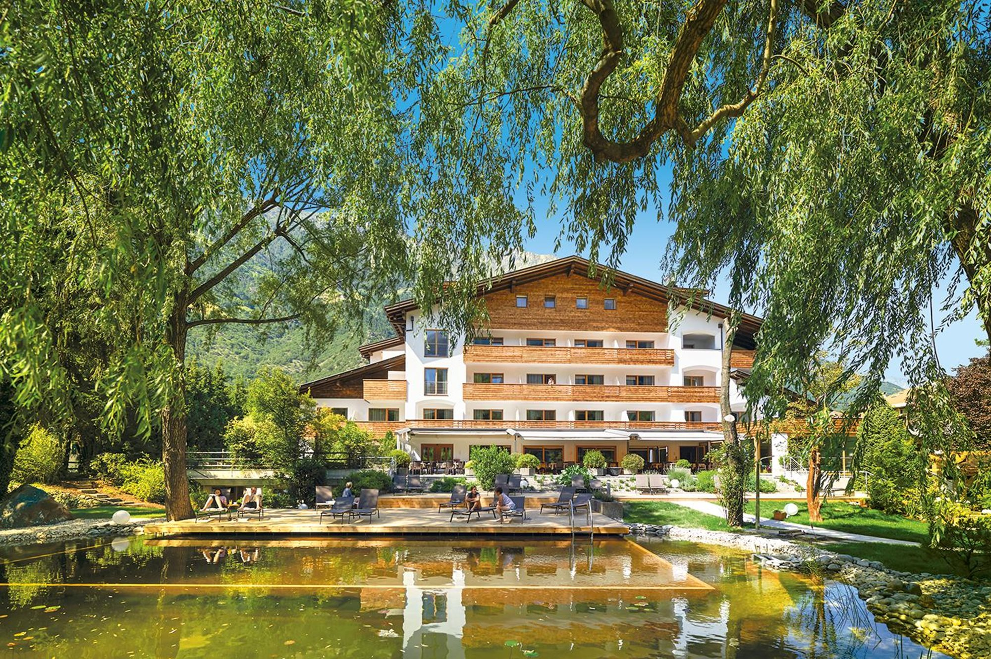 La Vimea, Italy. Fasting for arthritis - top retreats with SpaDreams, front of hotel