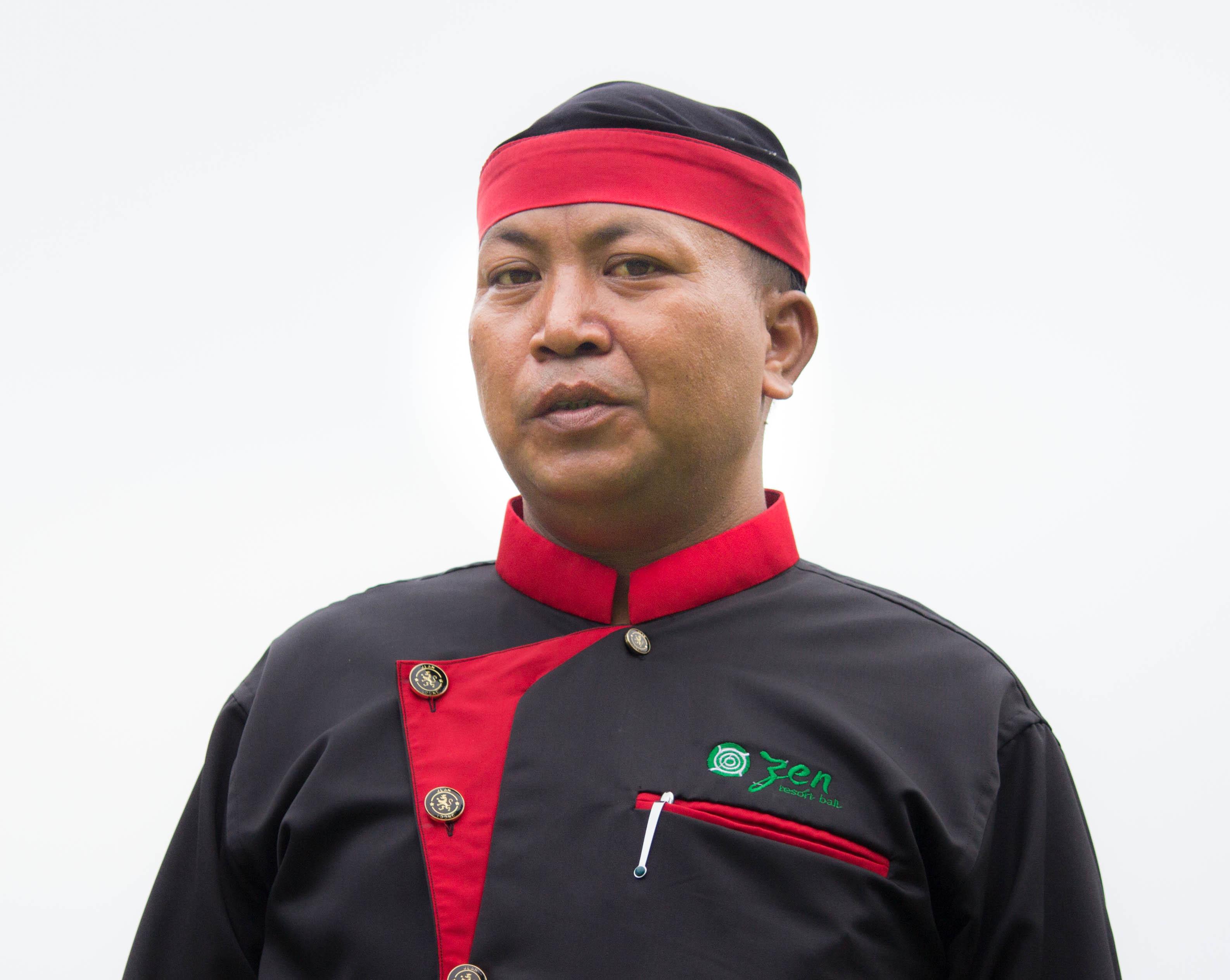 chef Komang, Zen Resort Bali
