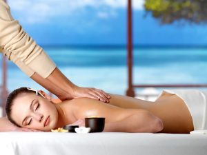 Massage on beach