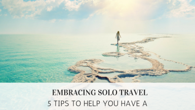Solo Travel Tips Blog Cover