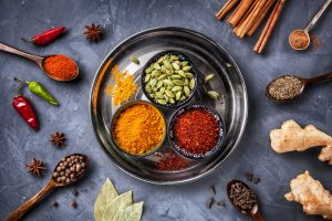 Variety of Ayurvedic Spices