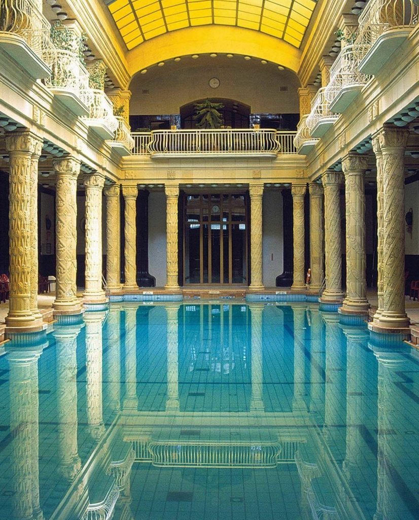 budapest hotel thermal baths