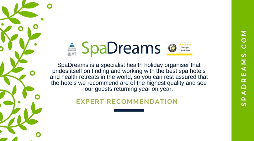 SpaDreams trust information - as a specialist health holiday organiser you can rely on our recommendations