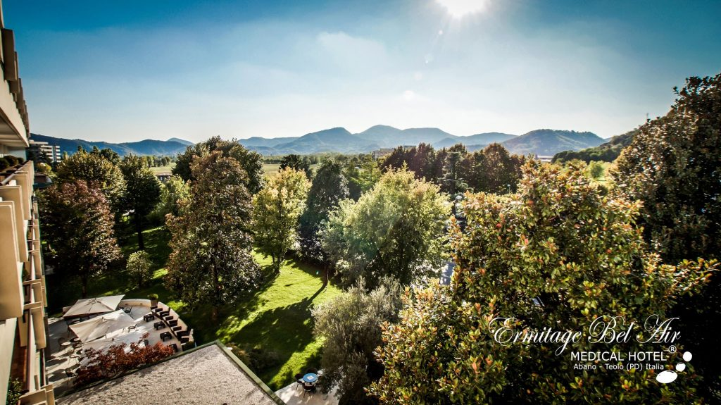 ermitage bel air, a medical hotel overlooking the hills in italy, great for vegan resorts all-inclusive
