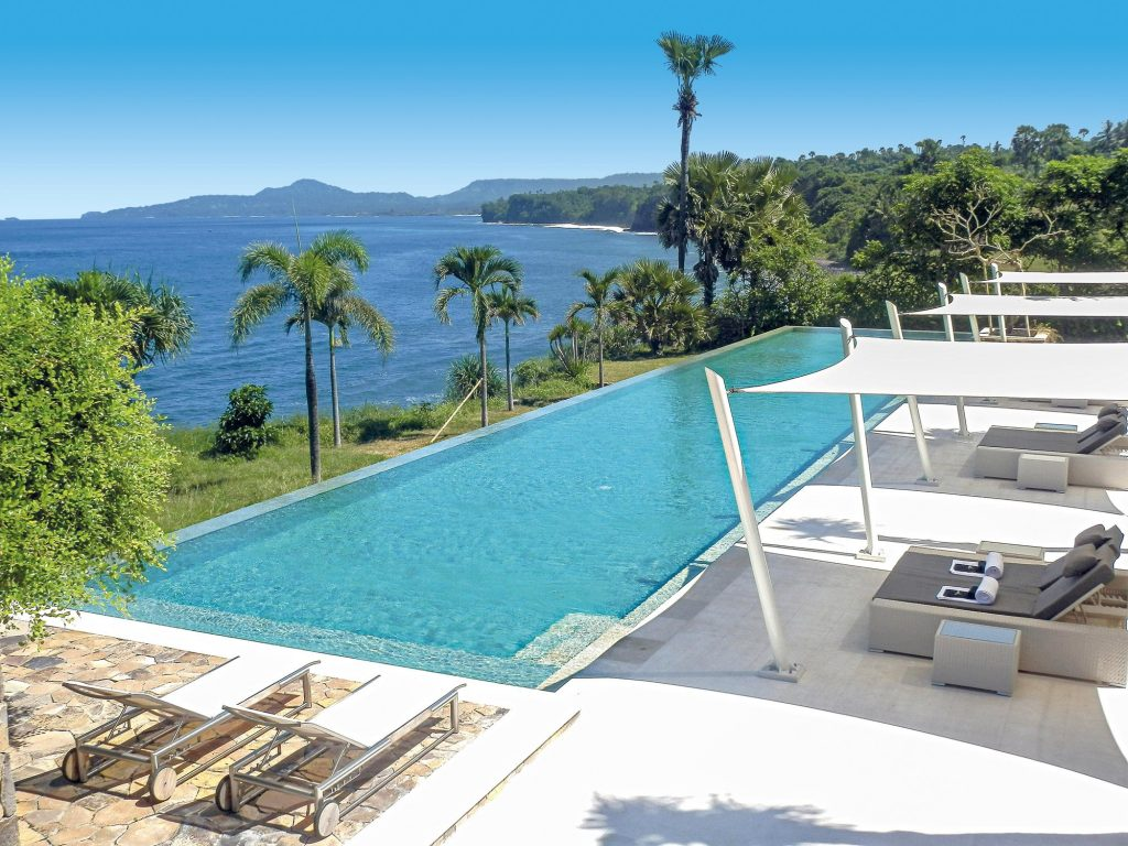 shunyata villas swimming pool and beautiful view