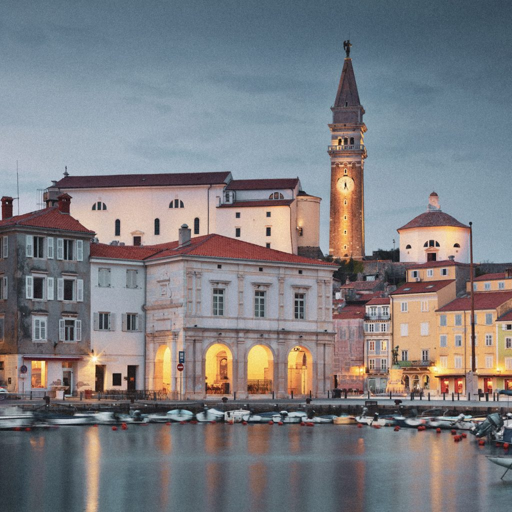Piran is one of the most beautiful cities in the Mediterranean, Slovenia.