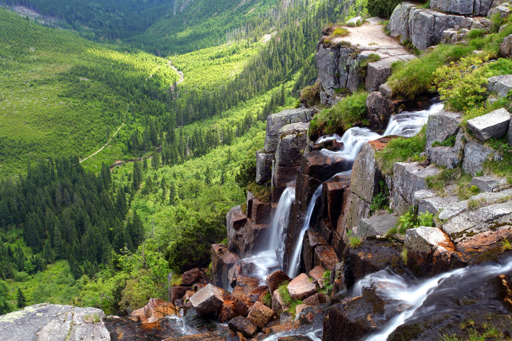 Czech republic - Krkonose waterfall