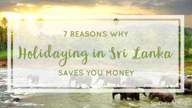 7 Reasons Why Holidaying in Sri Lanka Saves You Money - SpaDreams