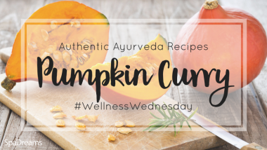 vegan pumpkin curry ayurveda spadreams