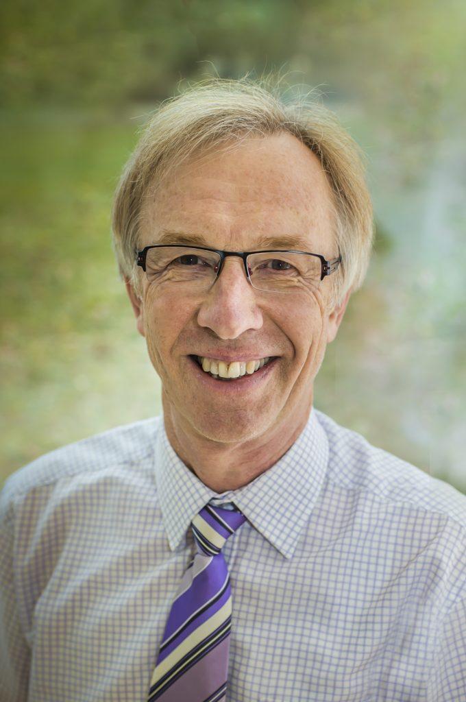 Portrait of Dr. Matejke, head physician of the Malteser Klinik von Weckbecker